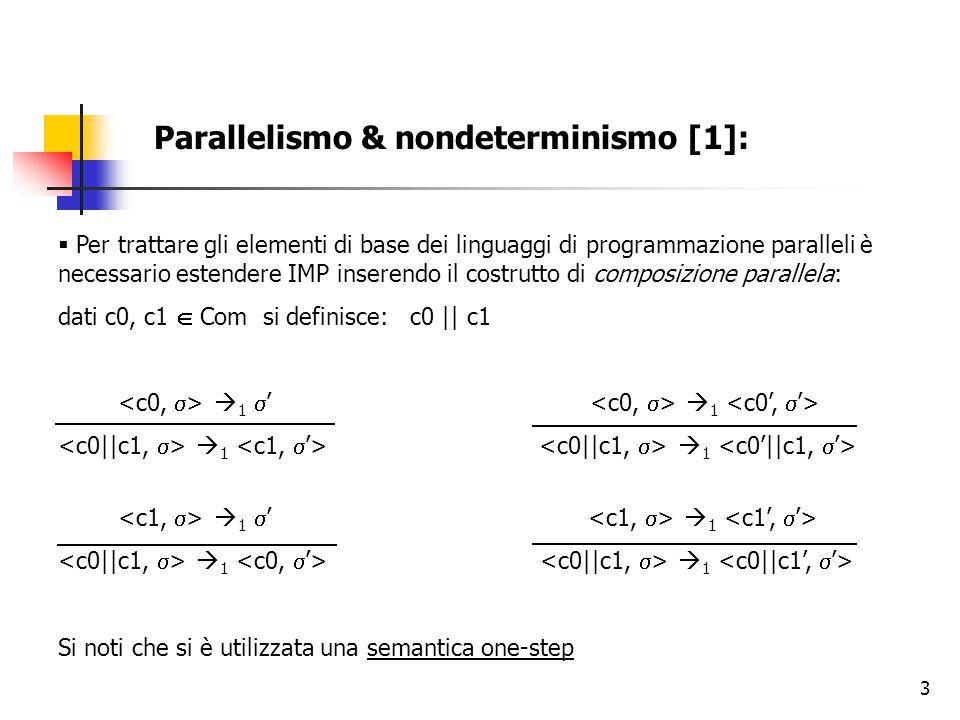 Parallelismo & nondeterminismo [1]: